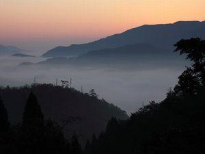 奥山峠の雲海